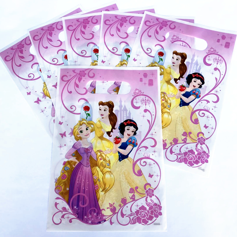 Halloween Wedding Gift Ideas: 6pcs Princess Belle Gift Candy Bags Birthday Party/Baby