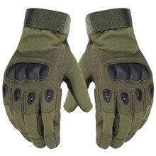 Venta caliente ejército guantes tácticos al aire libre completo dedo guantes antideslizantes deportes de microfibra para hombre guantes de los deportes