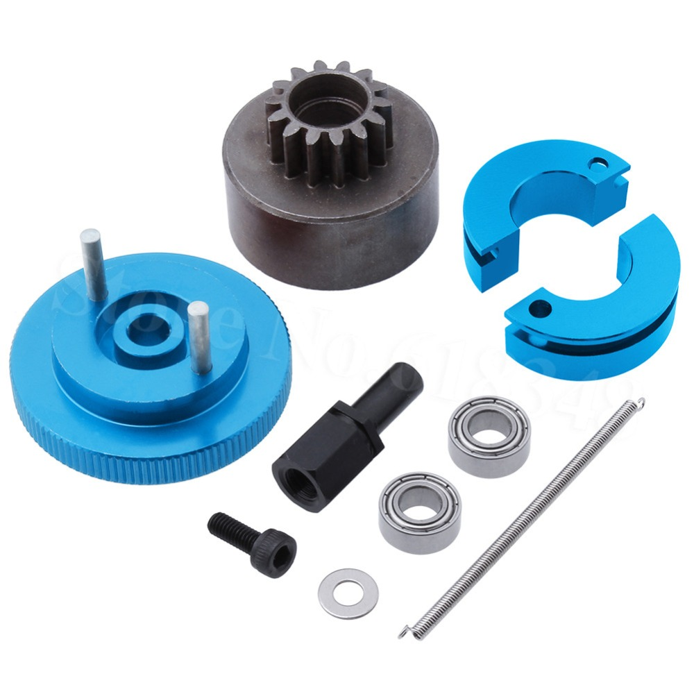 MagiDeal 1pcs 1//10 RC Car Metal Rear Arms Holder Mount Upgrade Parts for HSP 94122 On-Road Car Blue