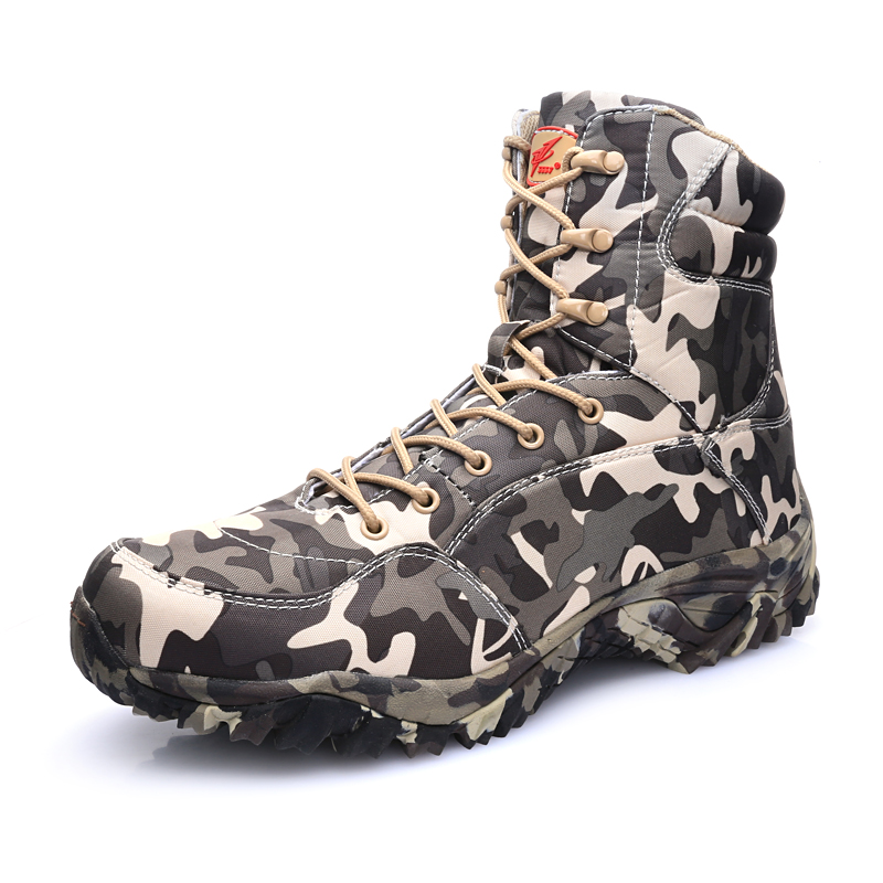 Outdoor Professional Waterproof PU Military Hiking Shoes Camouflage Breathable Climbing Boots Sports Hunting Tactics Shoes корнуэлл б гибель королей