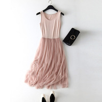Летнее платье 2019 женское сексуальное кружевное повседневное длинное платье женское розовое черное базовое пляжное вечернее платье женско...