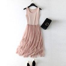Summer dress 2019 women Sexy lace Casual long dress women pink black Basic Beach Party Dresses Female Plus size vestidos mujer