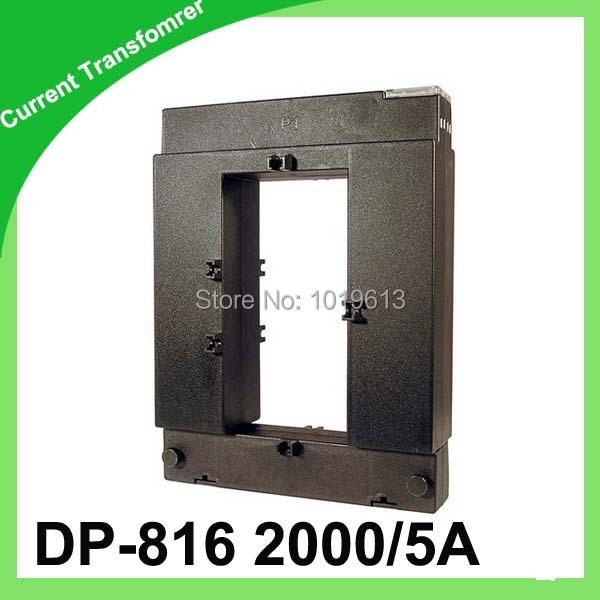 DP-816 2000/5A CLASS:0.5 10VA split core current transformer window type current transformer clamp on current transformer q110 ratio 600 5a to 2000 5a split core current transformers 110mm for electrical metering systems
