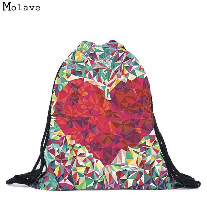 Detail Feedback Questions about Naivety Backpack New Women Sweet Geometric  Hearts 3D Printing Drawstring Bag AUG30 drop shipping on Aliexpress.com |  alibaba ...