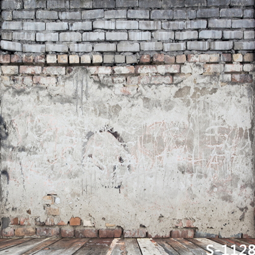 Brick Wall Wooden Floor 5x7ft Photo Background Wedding Baby Children Photo Studio Props Photography Vinyl Backdrops sjoloon brick wall photo background photography backdrops fond children photo vinyl achtergronden voor photo studio props 8x8ft