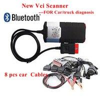 obd scanner for delphis vd ds150e cdp 2016.0 activate obd2 obdii diagnostic scanner tool full set 8pcs car cables for autocomes