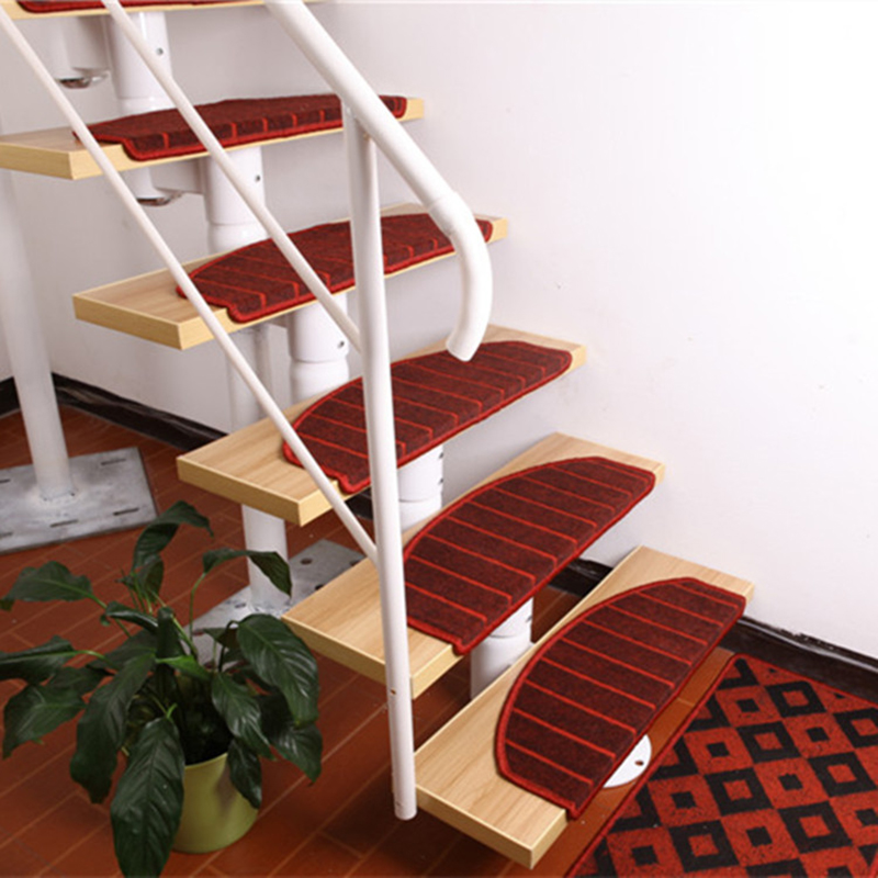 Exceptionnel Red Stair Carpet Mats Staircase Stepping Pad Rugs For Stairs With Magic  Buckle On Back Non Slip Mat(for 1 Pieces) In Carpet From Home U0026 Garden On  ...