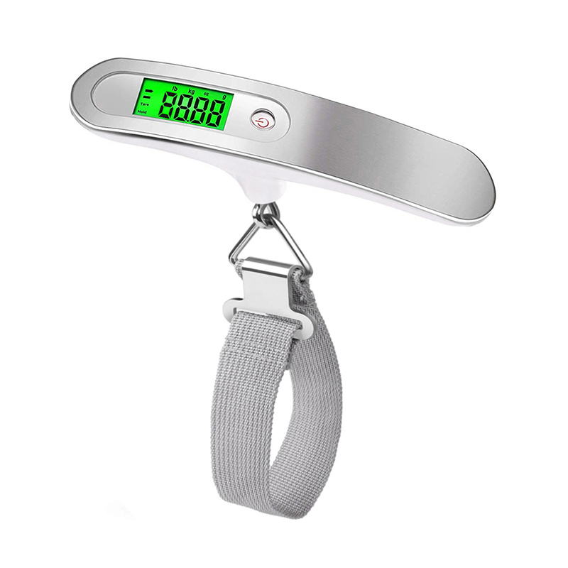 Image 3 - 50kg x 10g Digital Luggage Scale Portable Electronic Scale Weight Balance suitcase Travel Hanging Steelyard Hook scale-in Weighing Scales from Tools