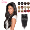 Best Quality Brazilian Hair Clip In Extensions 120 Gram Tic Tac Cabelo Humano Full Head Human Hair Extensions With Hair Clips