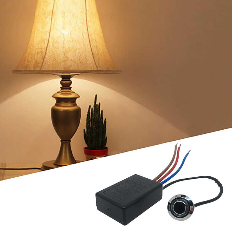 LD-600S Build-in 3 Way Tocco Delle Dita Dimmer ON/OFF Interruttore US EU 220 V-240 V 20 W-150 W