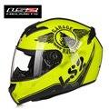 Envío gratis 100% original ff352 ls2 cara llena de la motocicleta casco dot ece aprobado ls2 que compite con el casco casque moto capacete