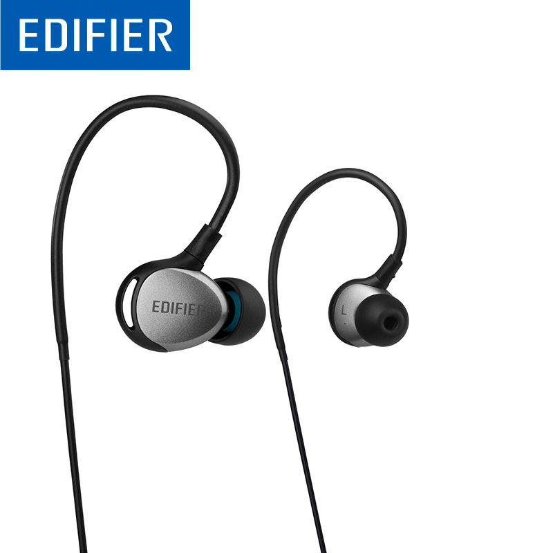 EDIFIER P281 Sport Earphone Waterproof Optimized Bass Stereo IP57 3.5MM In-Ear Earphone With Mic For A Mobile Phone Tablet стоимость