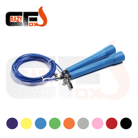 NEW Free Shipping 4D Metal Bearings Wire Length 3 Meters Skipping Rope Speed Cable Jump Rope