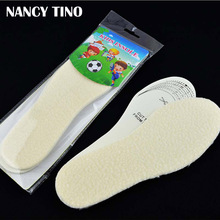 NANCY TINO Unisex Winter warme inlegzolen Thermal Shearling Snowboots Schoenen Pads kunstwol Kids Winter Schoenen inlegzolen