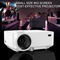 Lo nuevo 1000 Lúmenes Proyector Casero 3D Apoyo 800x480 Píxeles de Vídeo TV HDMI VGA Proyector Con fábrica de Gafas 3D gratis