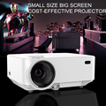 Newest 1000 Lumens 3D Home Projector Support 800x480Pixels Video TV HDMI VGA Projector With 3D Glasses factory shipping