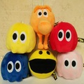 Movie Pixels Pacman Q-Bert Qbert & Pac-man & Ghost Plush Stuffed Toys Doll Toy Gift For Children Kids