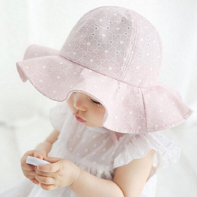 44d92f16f9aa Aliexpress.com   Buy Toddler Infant Kids Baby Girls Cap Outdoor ...