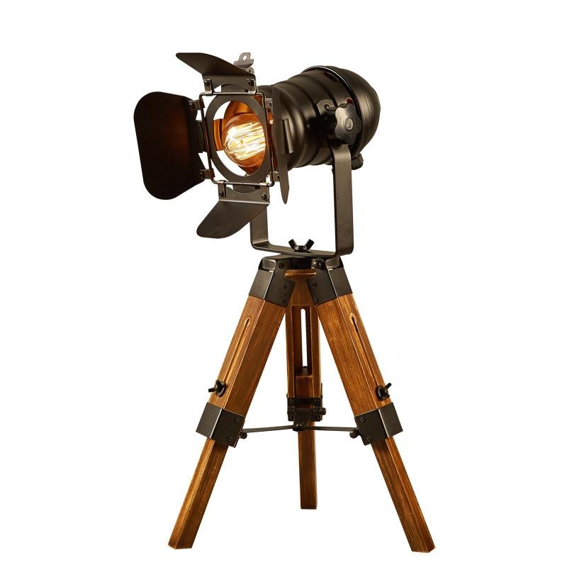Фон для фотосъемки с изображением деревянного декоративная настольная лампа творческий спальня Рабочий стол для чтения настольная лампа т