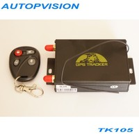 GSM / GPRS/ GPS satellite positioning system TK105B GPS tracker camera automatically fuel alarm Mileage statistics GPS105B