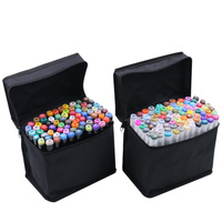 Painting drawing marker set Touch new 6 generation double head oil pen student hand painted color pen 30 color brush pen