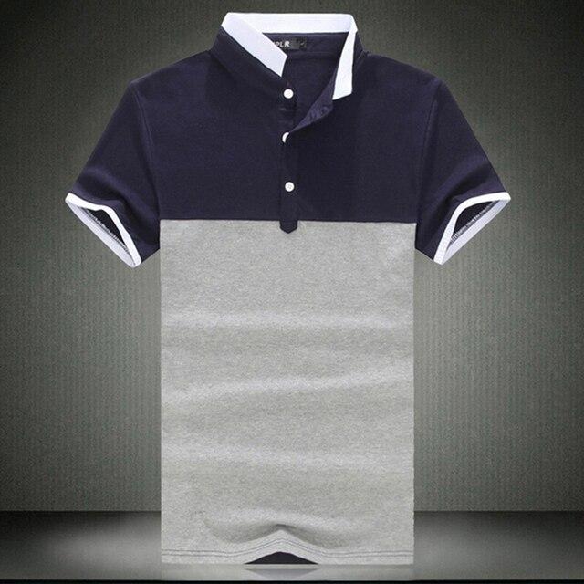 6XL высокое качество марка полосатой рубашке мужчины поло Ralp мужчины рубашки мода хлопок Camisa поло Masculina дышащая поло хомбре