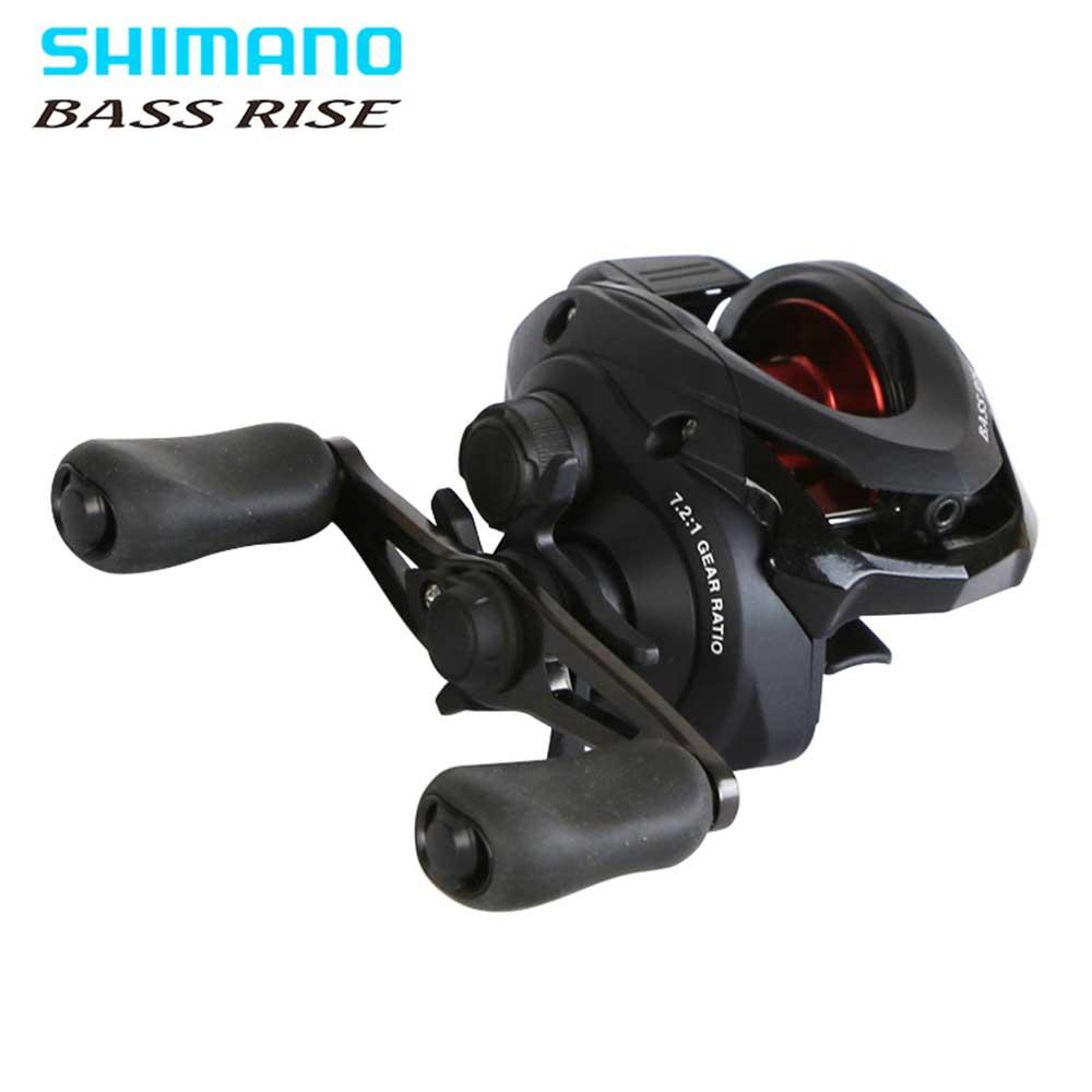 SHIMANO BASS RISE Baitcasting fishing reel 7 2 1 5 0kg Power spool Smooth light fishing