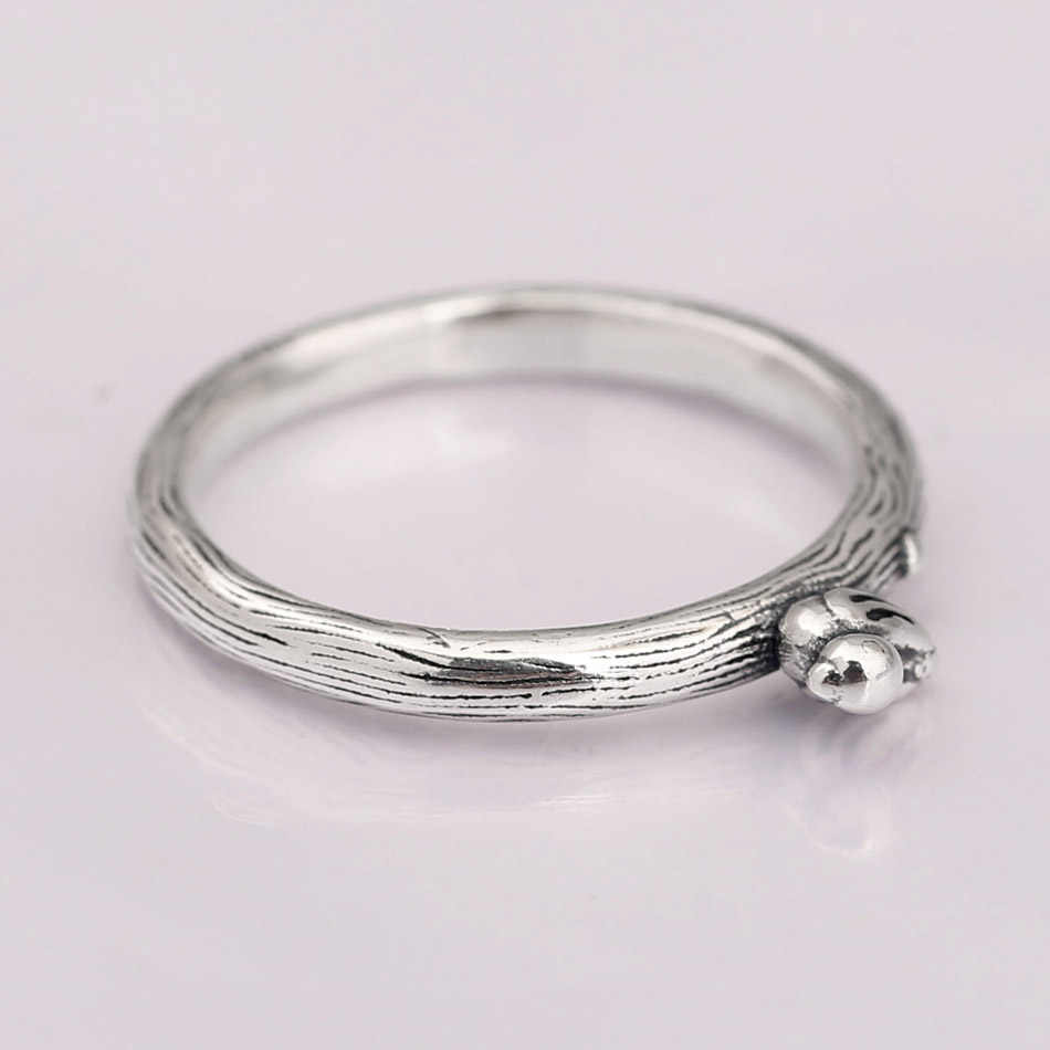 faf0e1062 Authentic 925 Sterling Silver Ring Spring Song Bird Rings For Women Wedding  Party Gift Fine Pandora
