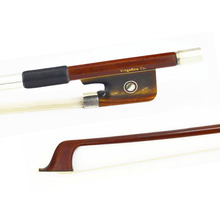 4/4 Size New Pernambuco Wood Material Cello Bow! Beautiful Ox Horn Frog, Natural Mongolia Horse Hair, Poweful and Wonderful Tone