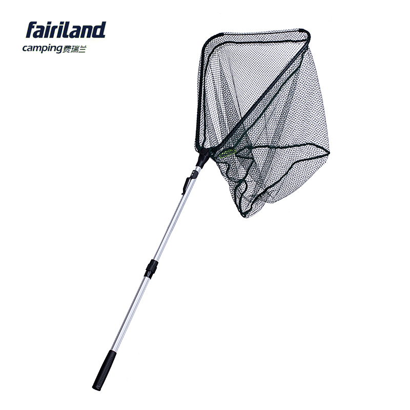 Fairiland 50 50cm large size fishing net retractable for Telescoping fishing net