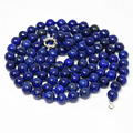 Natural Egyptian blue lapis lazuli jasper long chain necklace round beads 8,10,12mm fashoin elegant jewelry 36inch B1484