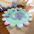 sun flowers cotton pad room decorative children crawling carpet pad game mat baby blanket play aden anais cartoon muslin swaddle