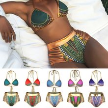Bikini Set S-XXXL Retro Brazilian High Waist Sexy Biquinis Plus Size Bikinis Women Swimwear Swimsuit Female Retro Sexy Bikini(China)