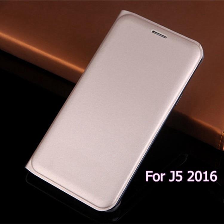 Slim Flip Cover Kožna torbica s Držačem kartice Rukav Torba Maskara Holster za Samsung Galaxy J5 2016 J510 J510F J510H J510M