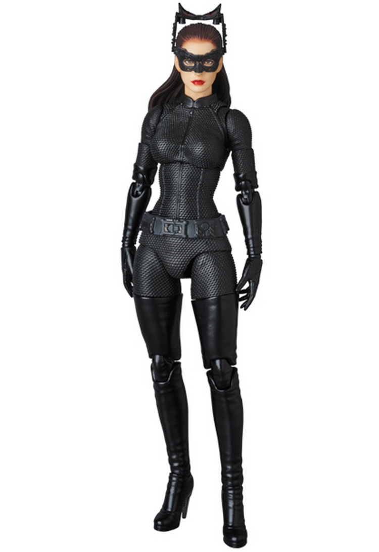 DC MAFEX 009 The Dark Knight Cat Anne Hathaway WOmen Collection Action Figure 15cm