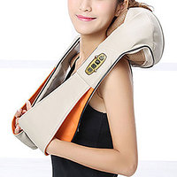 New Sale 1PC Electrical Shiatsu U Shape Neck Back Shoulder Body Massager Infrared Heated Kneading Car