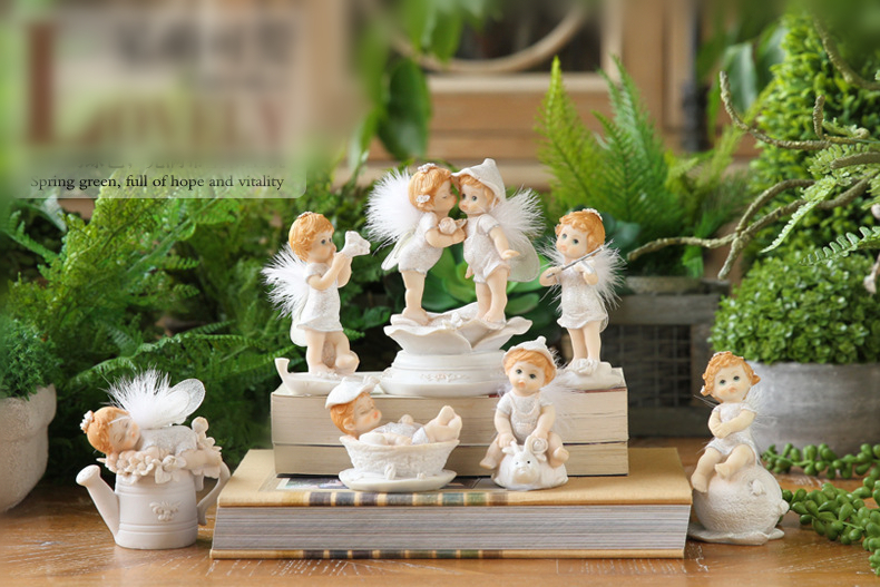 Cute Baby Angel Figurine (29)
