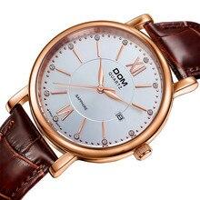 2016 новый дом часы мужчины люксовый мода кожа мужская бизнес кварцевые наручные часы Relojes хомбре Relogio Masculino