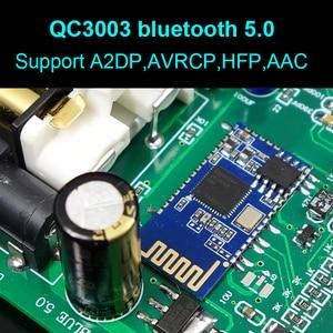 Image 4 - 新しいデュアルコア AK4493 DSD Usb 光学式同軸 bluetooth 5.0 オーディオデコーダ oled キーボード DC 12 より ES9038Q2M よりも