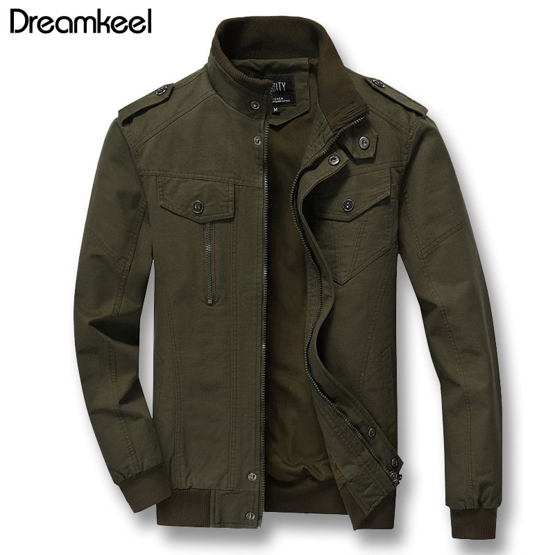 New 2018 Men Autumn Zipper Plus Size 6XL Mens Jackets And Coats Male Casual Fashion Slim Fitted Streetwear Hombre W