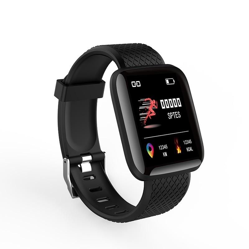 D13 Homens Relógio Pressão Arterial Inteligente Smartwatch À Prova D' Água Mulheres Relógio Monitor de Freqüência Cardíaca de Fitness Rastreador 116 plus Para Android IOS