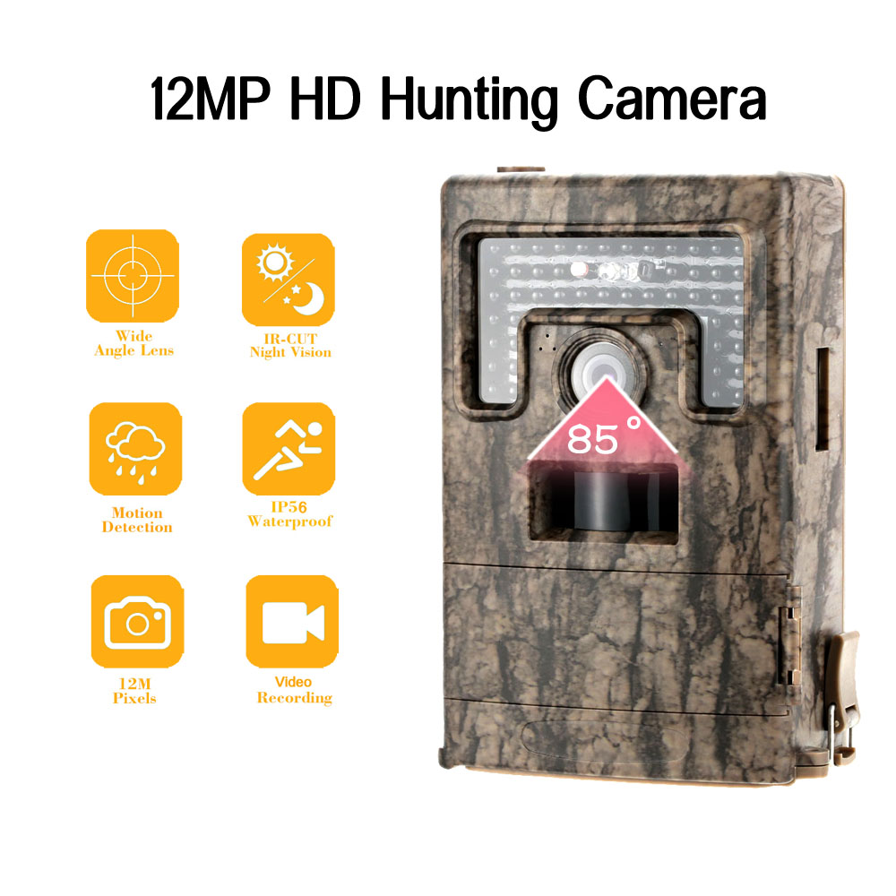 Portable Wildlife Hunting font b Camera b font 12MP HD Digital Infrared Scouting font b Trail