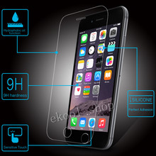 LRuiize Ultra Thin Premium Tempered Glass Screen Protector For Apple iphone all HD Toughened Protective Film +Soft TPU Case