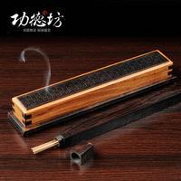 Pierced rosewood lying incense burner Africa violet rosewood quality incense box Aloes furnace incense