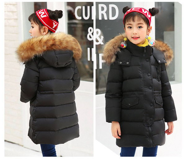 winter new Childrens down jacket  boys and girls long thick coatwinter new Childrens down jacket  boys and girls long thick coat