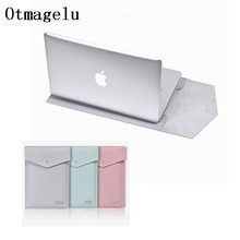 PU Laptop Case Bag For Macbook Air Pro Retina 11 12 13 14 15 Case For Asus Dell Acer Hp Xiaomi Sleeve Notebook Fashion Cover(China)