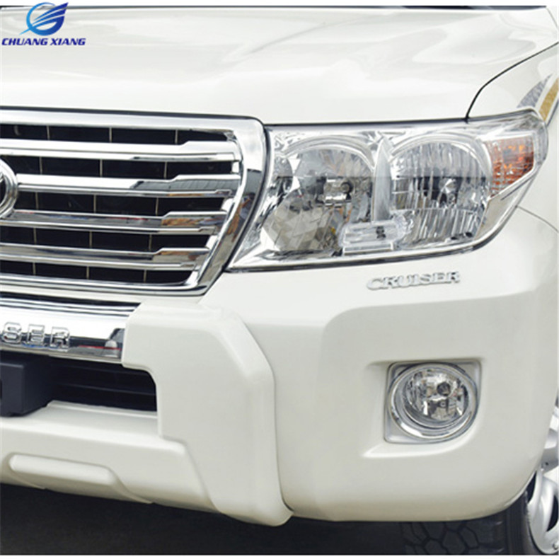 Chuangxiang Car Front Fog Lamp Fog Light For Toyota Land Cruiser LC200 V8 2012 2013 2014 2015  Accessories chuangxiang rear led fog lamp fog light for toyota land cruiser prado lc150 accessories 2010 2011 2012 2013 2014 2015 2016 2017