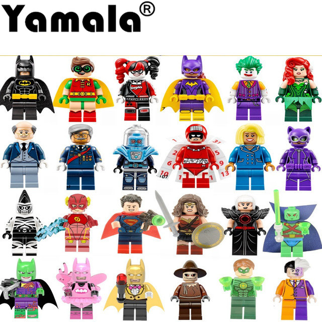 [Yamala] Single Super Heroes DIY Blocks X-man Avengers Justice League Model Building Blocks  Compatible With  Legoingly  Batman утюг redmond ri c219