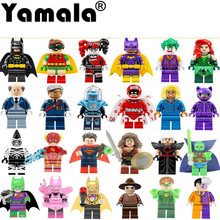 [Yamala] Single Super Heroes DIY Blocks X-man Avengers Justice League Model Building Blocks Compatible With Legoingly Batman