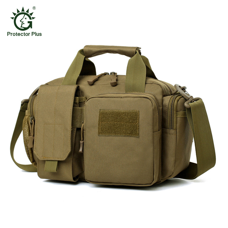 Outdoor Messenger Bag Tactical Molle Bag Waterproof Waist Fanny Pack Hiking Fishing Hunting Military Sports Waist Bag free knight 3 5l tactical molle bag waist bag waterproof hiking fishing sports hunting waist bag camping sport bag